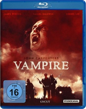 John Carpenters Vampire - Uncut Edition  (blu-ray)