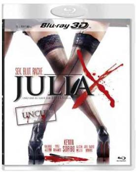 Julia X - Uncut Edition 3D  (3D blu-ray)