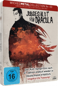 Junges Blut für Dracula - Wicked Metal Collection  (blu-ray)
