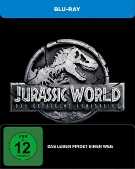 Jurassic World: Das gefallene Königreich - Limited Steelbook Edition  (blu-ray)