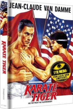 Karate Tiger - Uncut Mediabook Edition  (blu-ray) (Cover Kinoplakat)