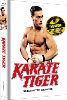 Karate Tiger - Uncut Mediabook Edition  (blu-ray) (Cover Wattiert)