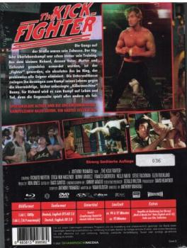 Kick Fighter, The -  Uncut Mediabook Edition (DVD+blu-ray) (D)
