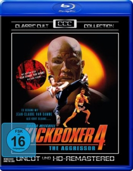 Kickboxer 4 - The Aggressor - Classic Cult Collection  (blu-ray)