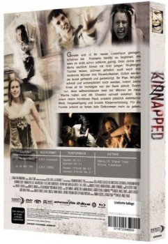 Kidnapped - Uncut Mediabook Edition  (DVD+blu-ray) (A)