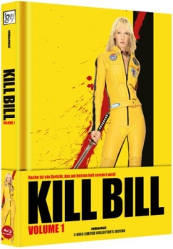 Kill Bill: Volume 1 - Uncut Mediabook Edition  (DVD+blu-ray)