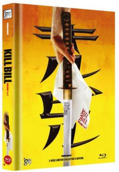 Kill Bill: Volume 1+2 - Uncut Mediabook Edition  (blu-ray) (A)