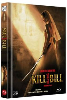 Kill Bill: Volume 1+2 - Uncut Mediabook Edition  (blu-ray) (B)