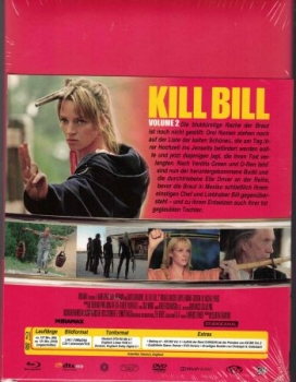 Kill Bill: Volume 2 - Uncut Mediabook Edition  (DVD+blu-ray)
