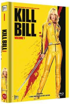 Kill Bill: Volume 1 - Uncut Mediabook Edition  (DVD+blu-ray) (E)