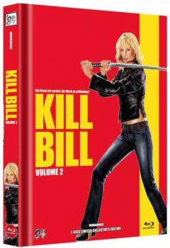 Kill Bill: Volume 2 - Uncut Mediabook Edition  (DVD+blu-ray) (E)