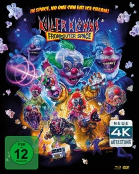 Killer Klowns from Outer Space - Uncut Mediabook Edition  (DVD+blu-ray) (B)