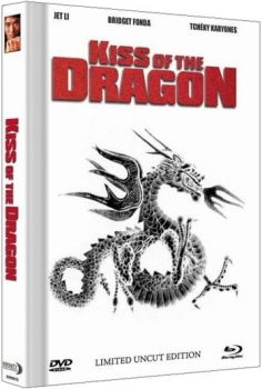 Kiss of the Dragon - Limited Mediabook Edition  (DVD+blu-ray) (B)