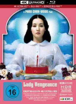 Lady Vengeance - Uncut Mediabook Edition  (4K Ultra HD+blu-ray)
