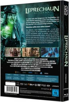Leprechaun Returns - Uncut Mediabook Edition  (DVD+blu-ray) (A)