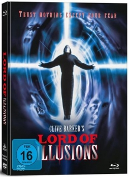 Lord of Illusions - Uncut Mediabook Edition  (DVD+blu-ray)