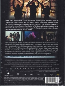 Lords of Chaos - Uncut Mediabook Edition  (DVD+blu-ray)