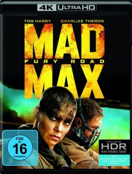 Mad Max 4 - Fury Road  (4K Ultra HD)