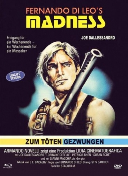 Madness - Zum Töten gezwungen - Eurocult Mediabook Collection (DVD+blu-ray) (C)