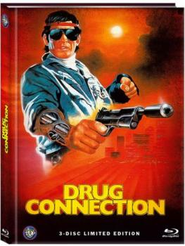 A Man From Holland - Drug Connection - Uncut Mediabook Edition  (blu-ray) (A)