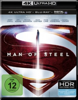 Man of Steel  (4K Ultra HD)
