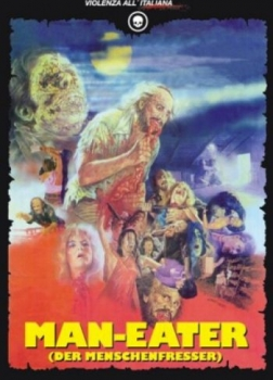 Man-Eater - Antropophagus - Uncut Mediabook Edition  (DVD+blu-ray) (D)