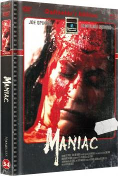 Maniac - Das Original - Uncut Mediabook Edition  (DVD+blu-ray+4K Ultra HD) (Cover Retro)