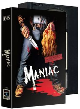 Maniac - Das Original - Uncut VHS Design Edition  (DVD+blu-ray+4K Ultra HD)