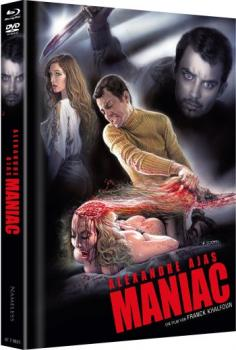 Maniac - Alexandre Aja - Uncut Mediabook Edition  (DVD+blu-ray+4K Ultra HD) (Cover Scotti)