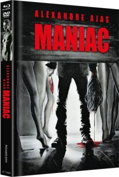 Maniac - Alexandre Aja - Uncut Mediabook Edition (DVD+blu-ray+4K Ultra HD) (Cover Beine)