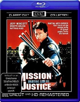 Martial Law 3 - Mission of Justice - Classic Cult Collection  (blu-ray)