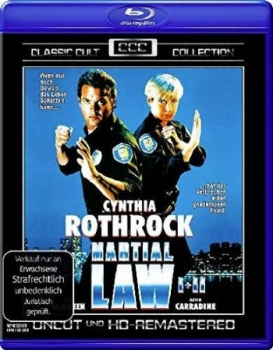 Martial Law 1+2 - Classic Cult Collection  (blu-ray)