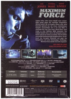 Maximum Force - Uncut Mediabook Edition (B)