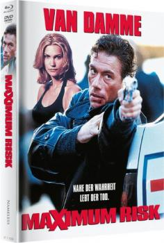 Maximum Risk - Uncut Mediabook Edition  (DVD+blu-ray) (Cover Wattiert)