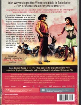 McLintock - Limited Mediabook Edition  (DVD+blu-ray)