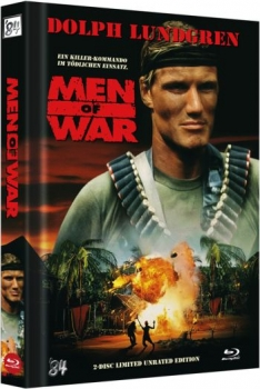 Men of War - Uncut Mediabook Edition  (DVD+blu-ray)