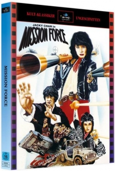 Jackie Chan - Mission Force - Uncut Mediabook Edition (blu-ray) (A)