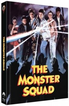 Monster Busters - Uncut Mediabook Edition  (DVD+blu-ray) (B)
