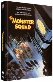 Monster Busters - Uncut Mediabook Edition  (DVD+blu-ray) (D)