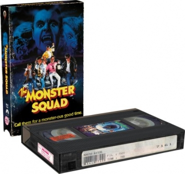 Monster Busters - Uncut VHS Design Edition (DVD+blu-ray) (B)