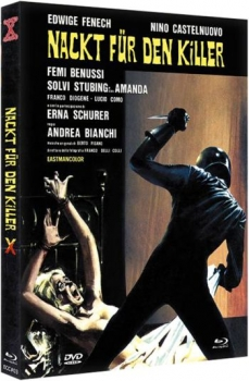 Nackt für den Killer - Eurocult Mediabook Collection (blu-ray) (C)