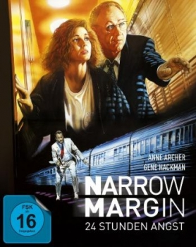 Narrow Margin - 12 Stunden Angst - Limited Mediabook Edition (DVD+blu-ray)