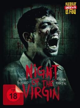 Night of the Virgin, The - Uncut Mediabook Edition  (DVD+blu-ray)