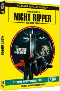 Night Ripper - Das Monster von Florenz - Giallo Edition 6  (DVD+blu-ray)
