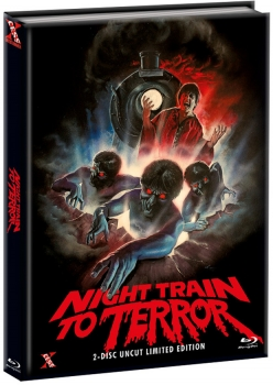 Night Train to Terror - Uncut Mediabook Edition  (DVD+blu-ray) (B)