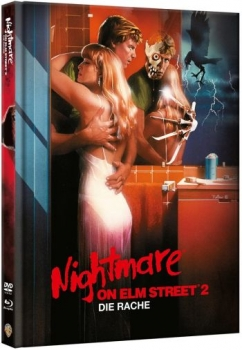 Nightmare on Elm Street 2 - Die Rache - Uncut Mediabook Edition (DVD+blu-ray)