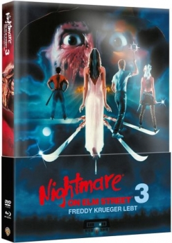 Nightmare on Elm Street 3 - Freddy Krueger lebt - Uncut Mediabook Edition (Wattiert) (DVD+blu-ray)