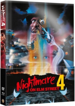 Nightmare on Elm Street 4 - Uncut Mediabook Edition (Wattiert)  (DVD+blu-ray)