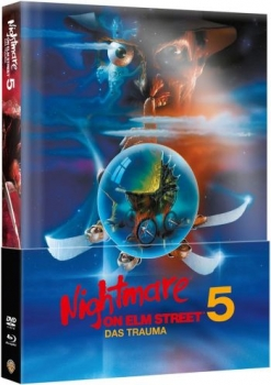 Nightmare on Elm Street 5 - Das Trauma - Uncut Mediabook Edition (Wattiert)  (DVD+blu-ray)