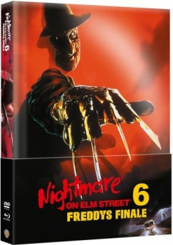 Nightmare on Elm Street 6 - Freddys Finale - Uncut Mediabook Edition (Wattiert)  (DVD+blu-ray)